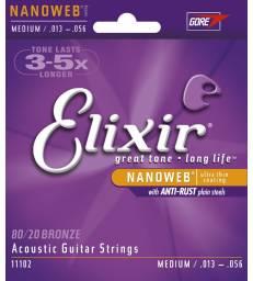 ELIXIR - CORDES ACOUSTIQUES NANOWEB M 13-56