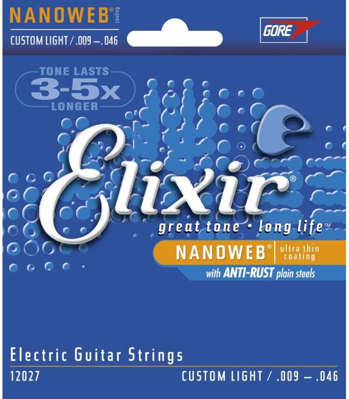 ELIXIR - CORDES ÉLECTRIQUES NANOWEB CL 09-46