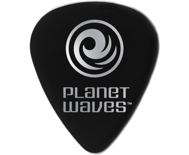 PLANET WAVES - MEDIATORS CELLULOID NOIR ,50MM