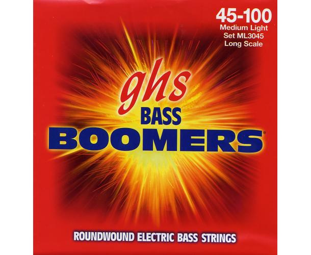 GHS - CORDES DE GUITARE BASSE LONG SCALE MEDIUM LIGHT