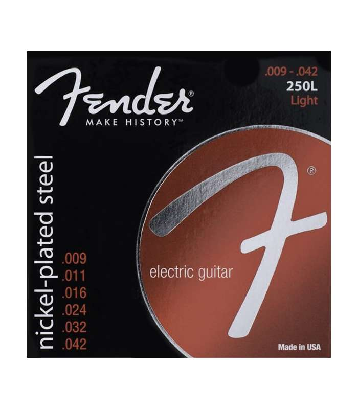 FENDER - CORDES SUPER NICKEL-PLATED 250L
