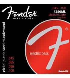 FENDER - CORDES BASSES 7250ML