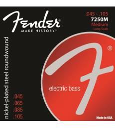 FENDER - CORDES BASSES 7250M