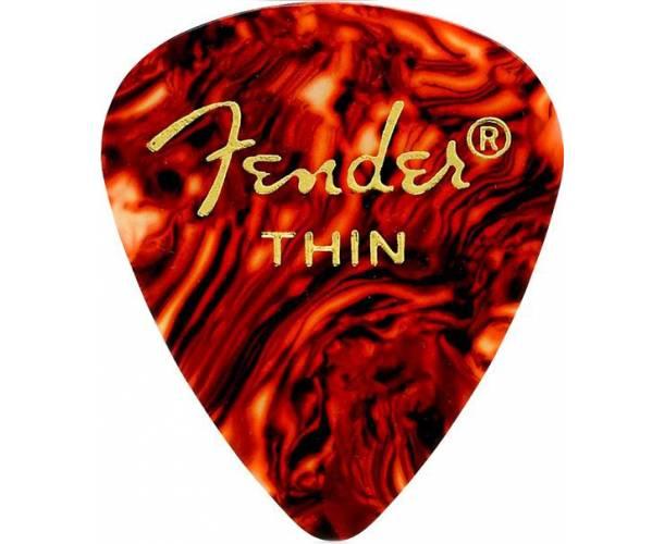 FENDER - 351 Shape Premium Picks  Thin  Shell  12 Count