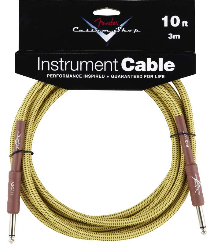 FENDER - Fender® Custom Shop Performance Series Cable 10' Tweed