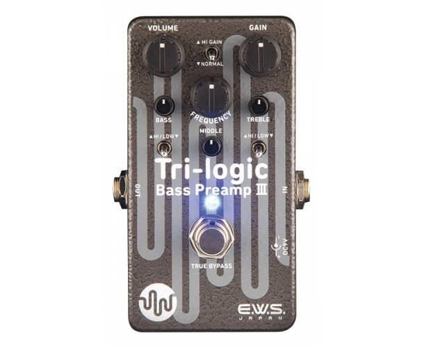 EWS - TRI-LOGIC BASS PREAMP III