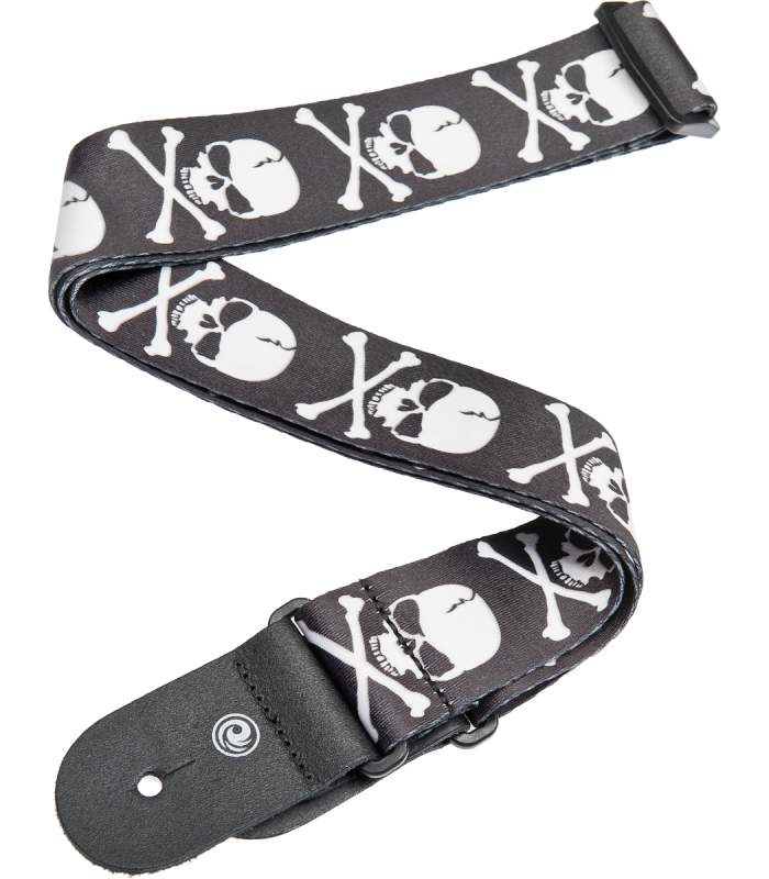 PLANET WAVES - COURROIE IMPR SKULL 50MM