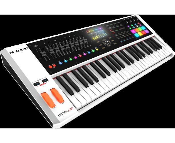 M-AUDIO - USB MIDI 49 NOTES ÉCRAN 8 PADS