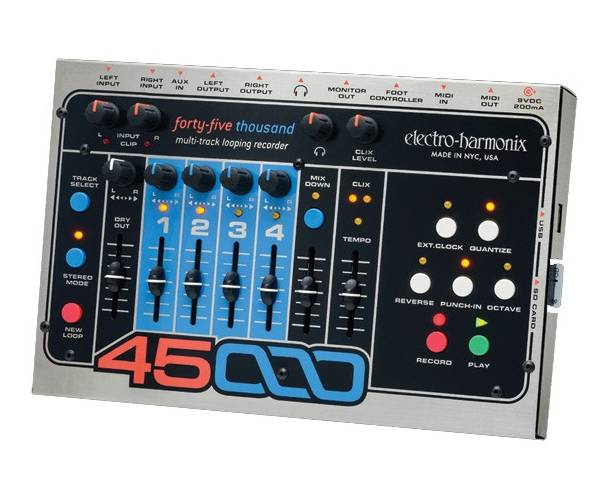ELECTRO-HARMONIX - 45000 MULTI-TRACK LOOPER