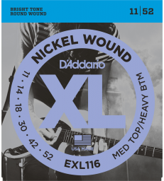 D'ADDARIO - JEU DE CORDES MEDIUM EXL116