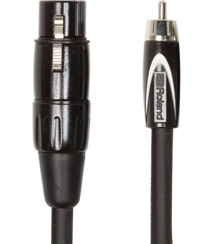 ROLAND – RCC10-RCXF CABLE XLR (FEMELLE)/RCA 3M