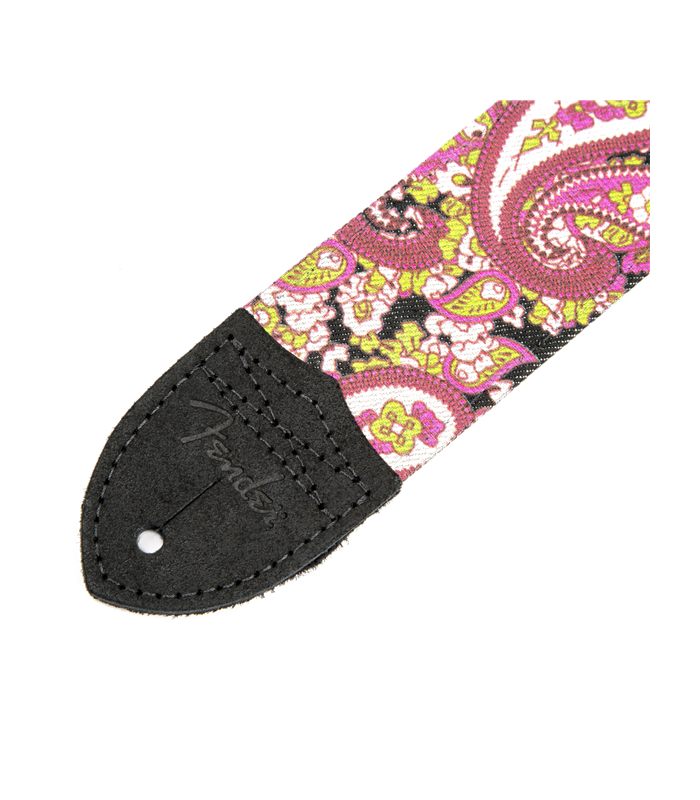 FENDER- SANGLE GUITARE PINK PAISLEY