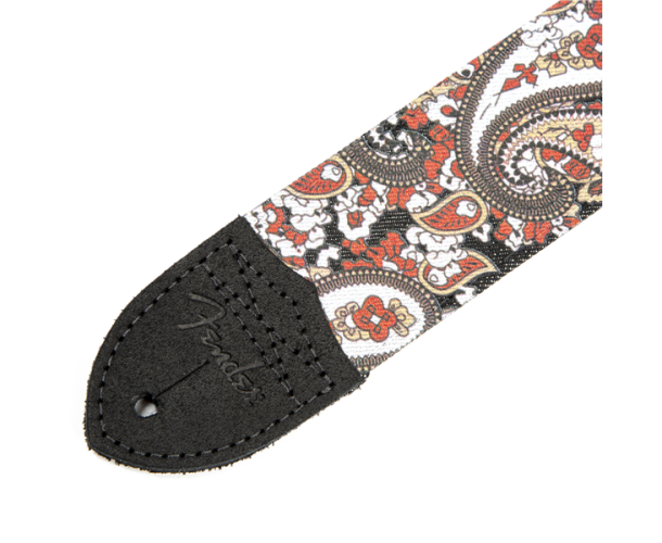 FENDER- SANGLE GUITARE RED PAISLEY