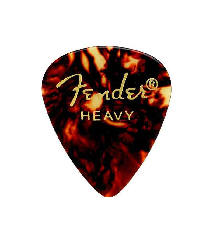 FENDER - 351 Shape Premium Picks Heavy Shell 12 Count