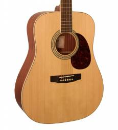 GUITARE CORT EARTH100 NATUREL SATINE