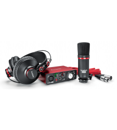 FOCUSRITE - SCARLETT2 SOLO STUDIO PACK (VERSION 2016)