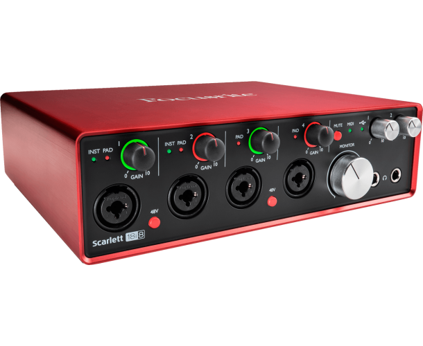 FOCUSRITE - SCARLETT2-18I8 (VERSION 2016)