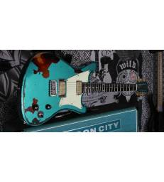 WILD CUSTOMS - WILDMASTER TEAL GREEN RELIC OVER SUNBURST