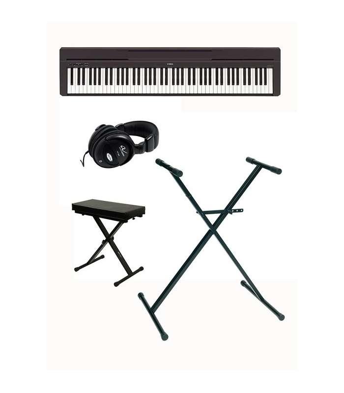 pack yamaha p45 hurricane music. Black Bedroom Furniture Sets. Home Design Ideas