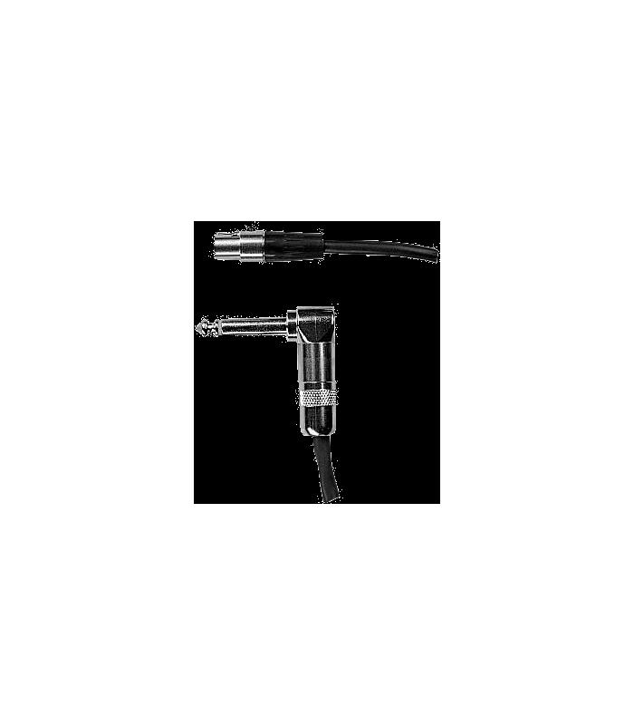 SHURE - CABLE 0.7M MINI TQG-JACK 6.35