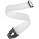 PLANET WAVES - SPL208 COURROIE POLY P.LOCK BLANCHE