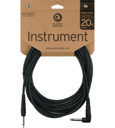 PLANET WAVES - CGTRA-20 CABLE JACK COUDE/J 6M