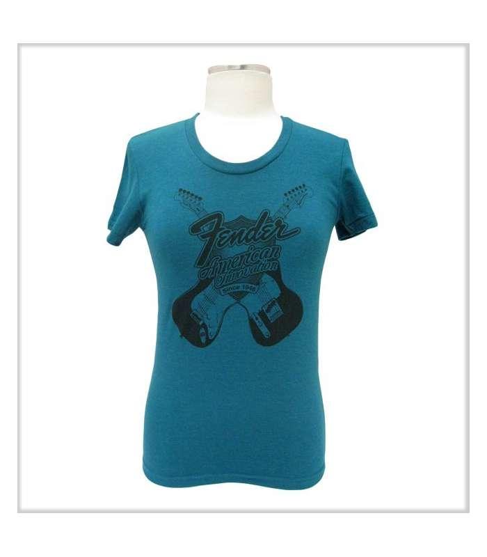 FENDER - Fender® Ladies Innovation T-Shirt  Evergreen  L