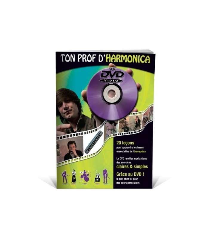 EDITIONS COUP DE POUCE - TON PROF D'HARMONICA LIVRE + DVD