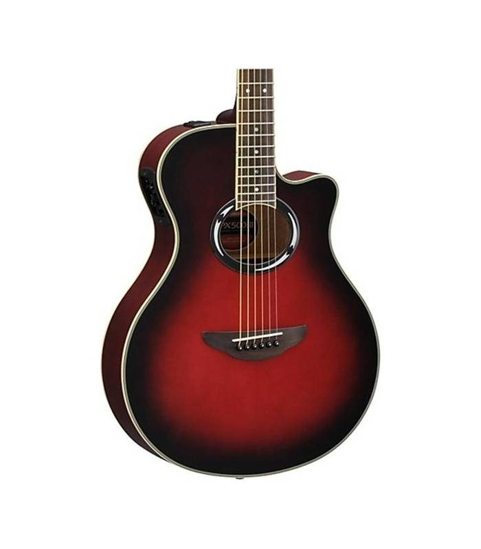 guitare apx500 iii yamaha dusk sun red. Black Bedroom Furniture Sets. Home Design Ideas