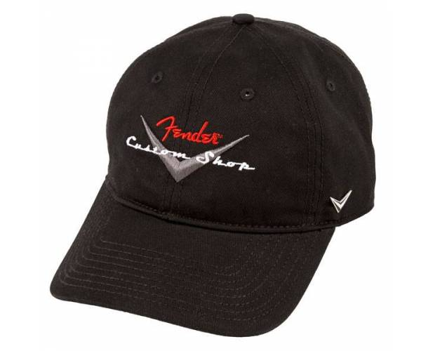 FENDER - Fender® Custom Shop Baseball Hat  Black  One Size
