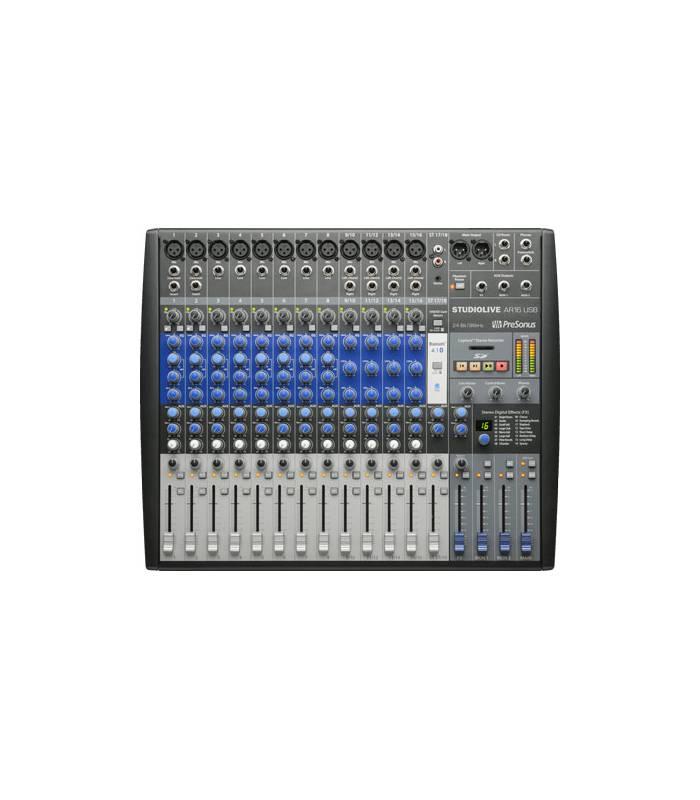 PRESONUS - STUDIO LIVE AR16 MIXEUR HYBRIDE16 CANAUX USB