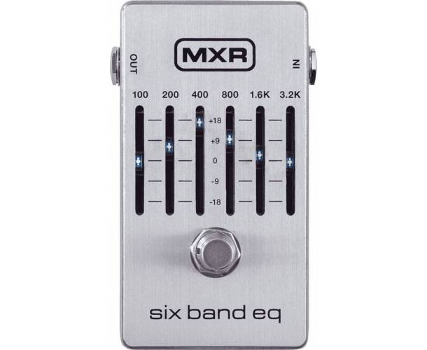 "MXR - PED ""6 BAND GRAPHIC EQ"""