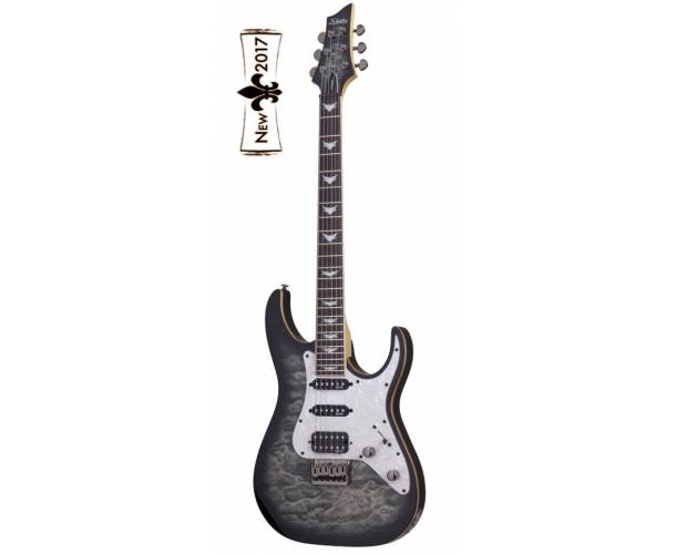 SCHECTER - BANSHEE EXTREME 6 HARDTAIL CHARCOAL BURST