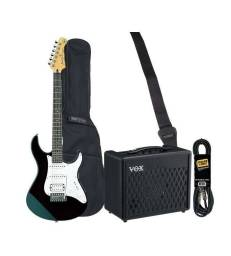 HURRICANE MUSIC PACK ELECTRIQUE YAMAHA PACIFICA BLACK