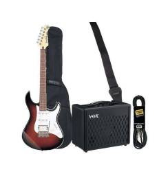 HURRICANE MUSIC PACK ELECTRIQUE YAMAHA PACIFICA OVS