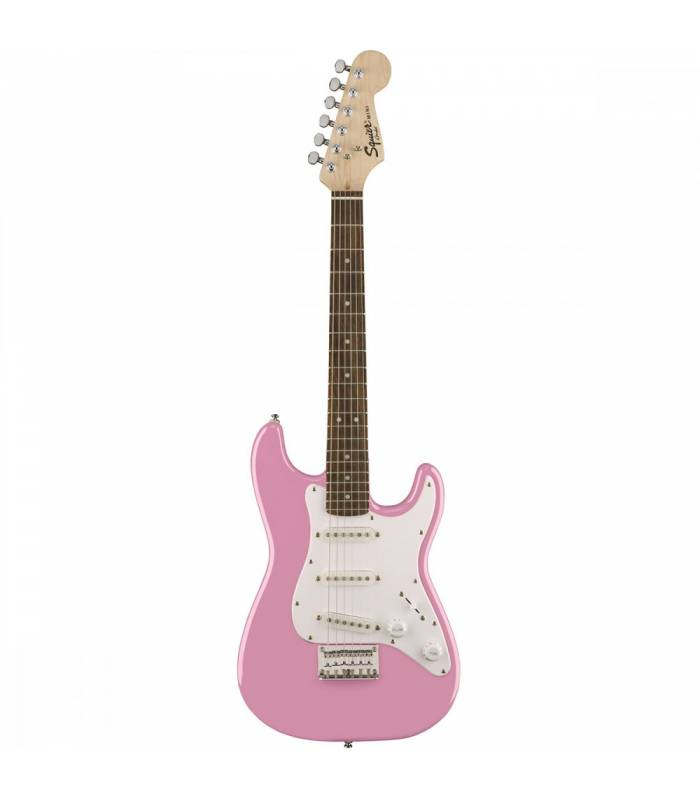 SQUIER - Mini stratocaster Rosewood Fingerboard Pink