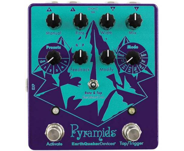 EARTHQUAKER DEVICES -PYRAMIDS FLANGER