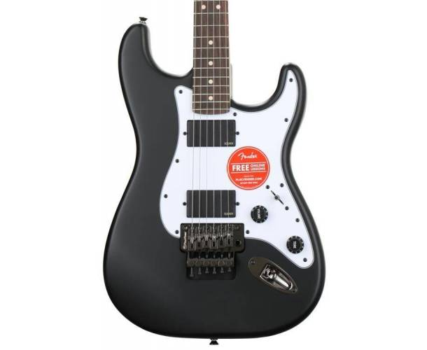 SQUIER - CONTEMPORARY ACTIVE STRATOCASTER® HH FLAT BLACK