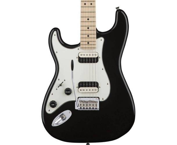 SQUIER CONTEMPORARY STRATOCASTER® HH FLAT BLACK GAUCHERE