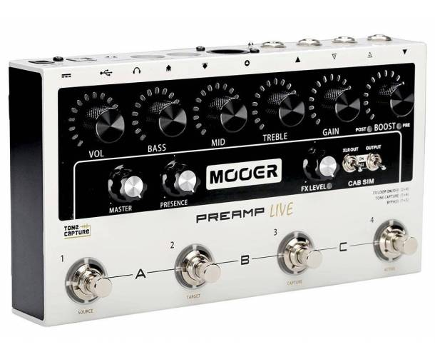 MOOER - PREAMP LIVE
