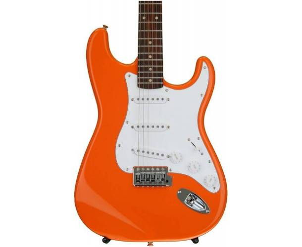SQUIER - AFFINITY SERIES STRATOCASTER COMPETITION ORANGE