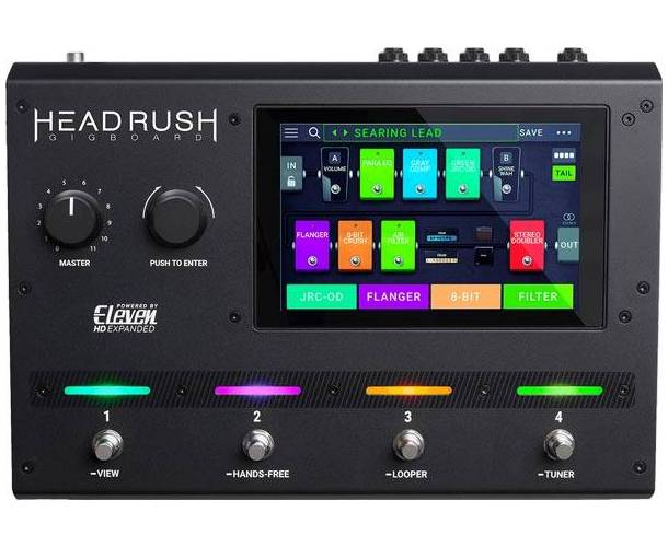 HEADRUSH GIGBOARD PEDALIER MULTI EFFET