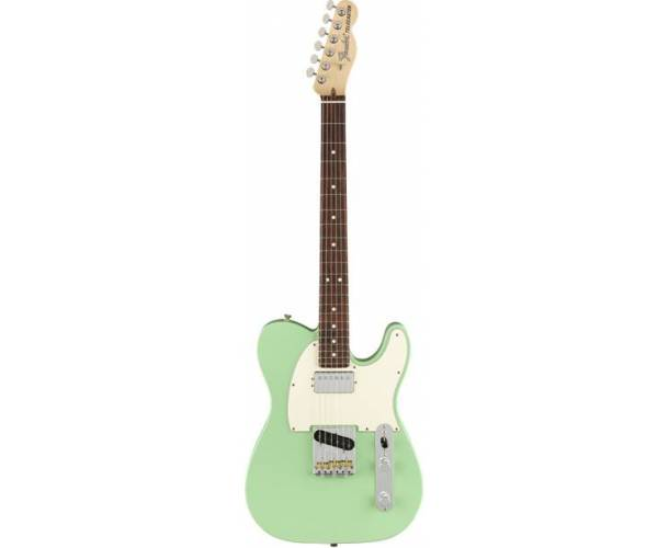 FENDER - AMERICAN PERFORMER TELECASTER HUM RW SATIN SURF GREEN