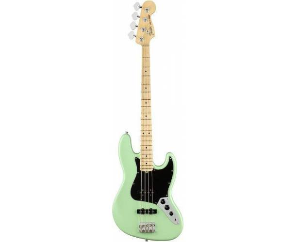 FENDER - AMERICAN PERFORMER JAZZ BASS MN SATIN SURF GREEN