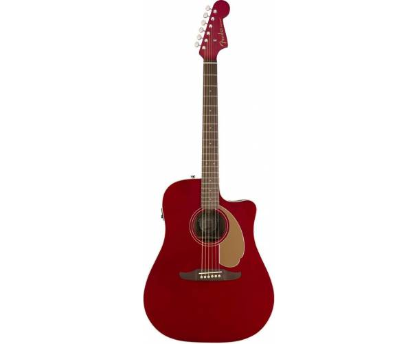 FENDER REDONDO PLAYER CANDY RED