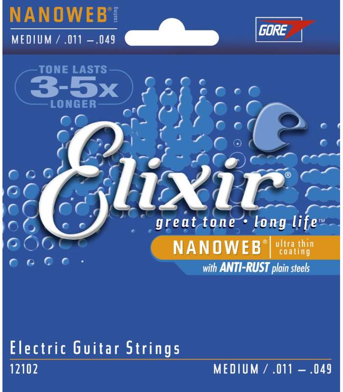ELIXIR - NANOWEB MEDIUM  11-49