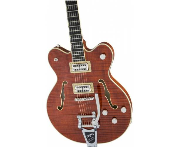 GRETSCH - G6609TFM-BBN PLAYERS EDITION BROADKASTER BOURBON STAIN