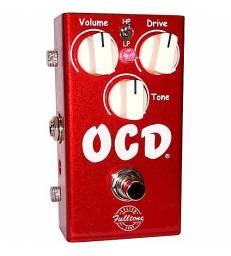 FULLTONE OCD V2 CANDY APPLE RED LIMITED EDITION