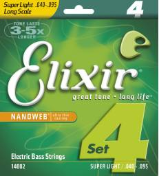 ELIXIR - NANOWEB BASS LONG SCALE EXTRA LIGHT 40-95