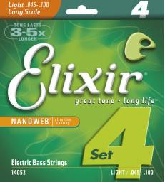 ELIXIR - NANOWEB BASS LONG SCALE LIGHT 45-100